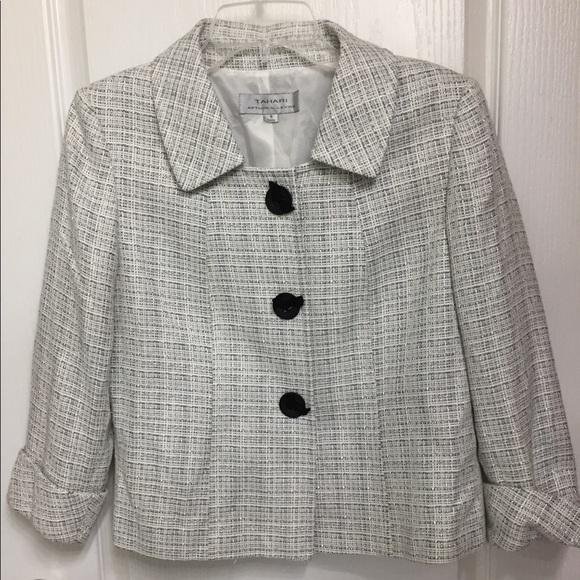 Tahari Jackets & Blazers - Tahari Coat Blazer